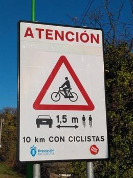 Señales para ciclistas