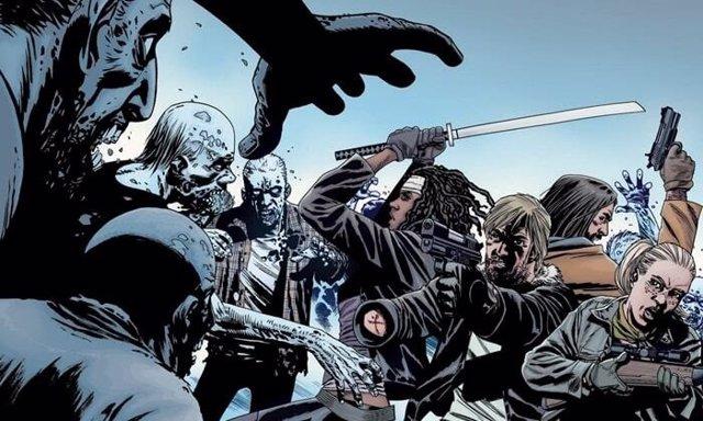 Imagen del cómic de The Walking Dead, creado por Robert Kirkman