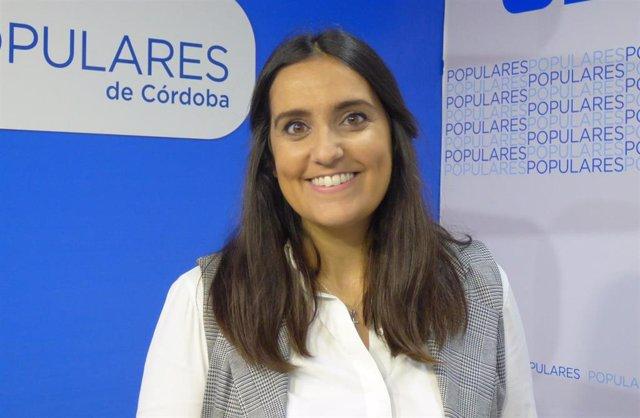 La diputada autonómica del PP de Córdoba Beatriz Jurado