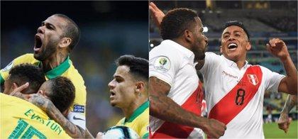 Brasil y Perú, en busca de la novena Copa América o del Maracanazo