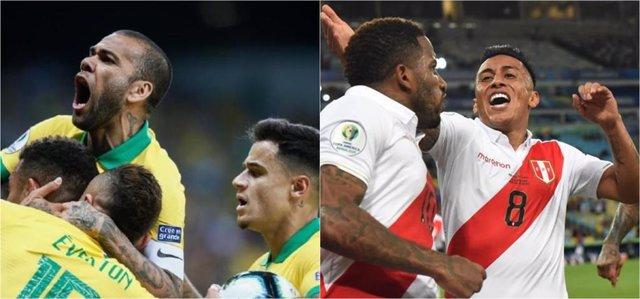 Brasil y Perú se enfrentarán en la final de la Copa América 2019