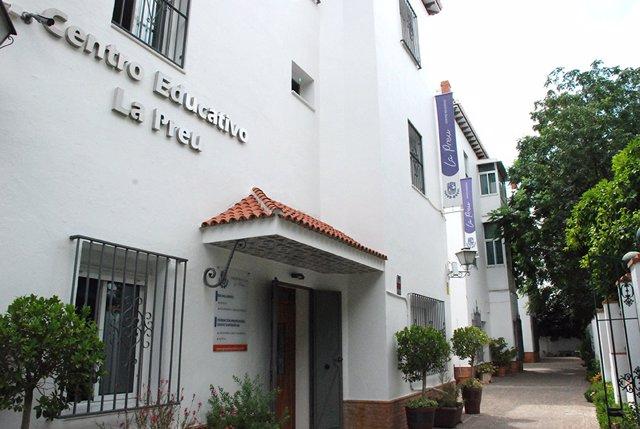 Centro educativo La Preu de Sevilla.