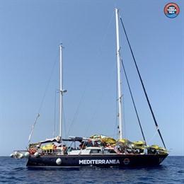 Vaixell 'Alex' de la ONG de rescat de migrants Mediterránea