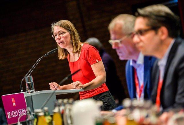 La líder del SPD en Bremen, Sascha Karolin Aulepp