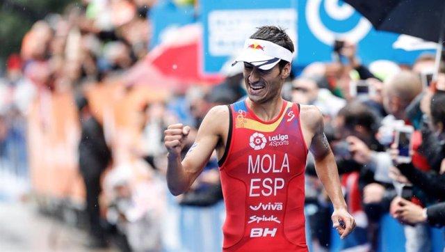 Mario Mola campeón mundo