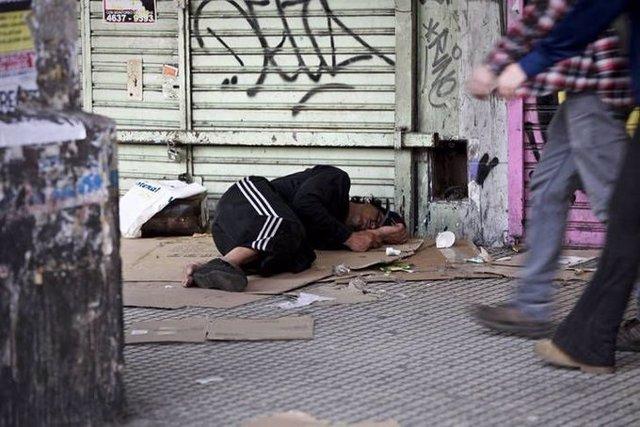 Personas en situacón de calle en Argentina