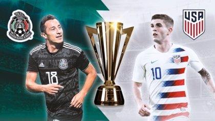 México y EEUU se vuelven a ver las caras en la final de la Copa Oro