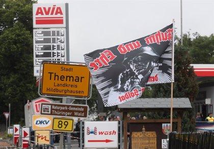 Cerveza en España.- La Policía impide tocar a dos grupos y se incauta de cerveza en un festival neonazi en el este de Alemania