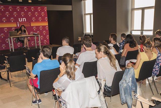 Una imagen de archivo de los cursos de verano de la UNIA en Málaga