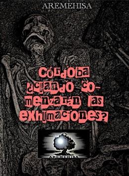 Imagen de la campaña de Aremehisa en redes sociales sobre la falta de presupuesto para las exhumaciones de víctimas del franquismo.