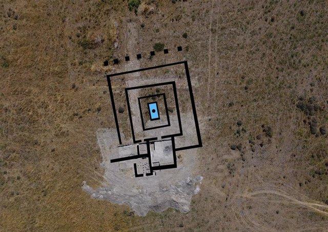 Plano de la mansión romana de Matabuey