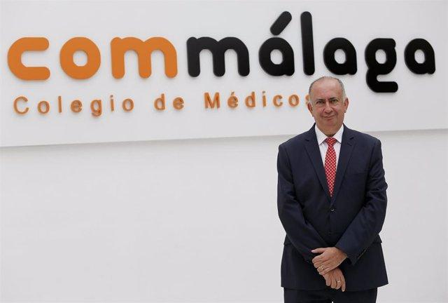 Juan Jose Sanchez Luque, presidente del Colegio de Médicos de Málaga