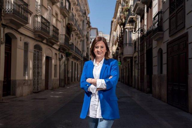 La portavoz del PP en el Ayuntamiento de València, Mª José Catalá.