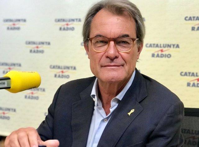 L'ex-president de la Generalitat Artur Mas