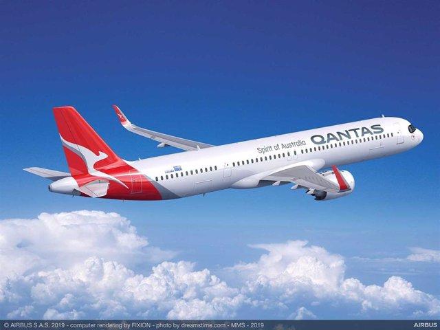 Avión A321XLR para Qantas