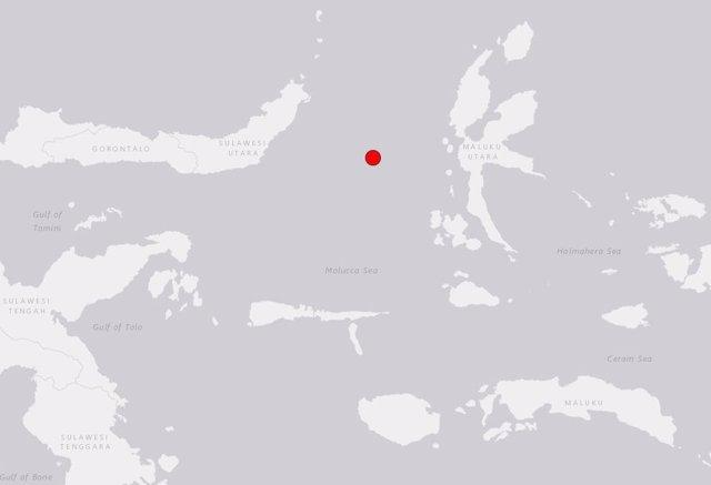 Terratrèmol de 7,1 al mar de las Moluques