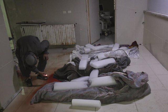 Ataque en Muhambal (Siria)
