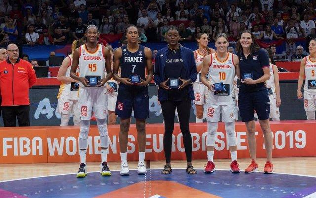 La española Astou Ndour, MVP del Eurobasket 2019