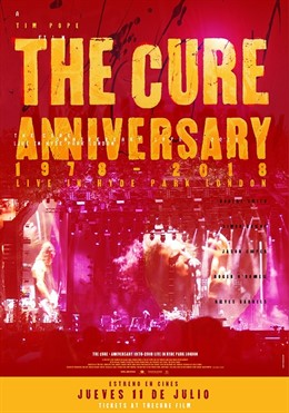 Cines cántabros proyectan este jueves el estreno mundial de 'The Cure Anniversary'