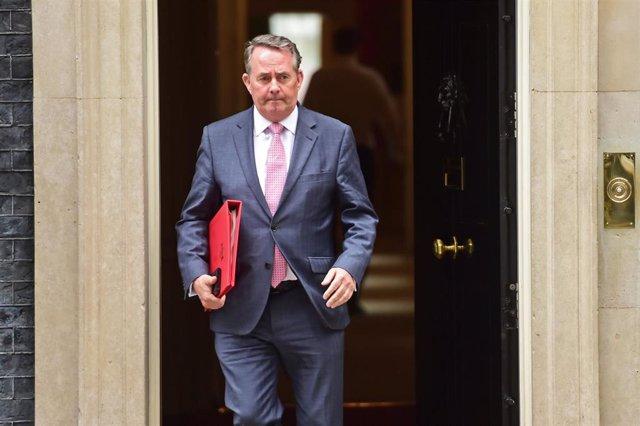 El ministro de Comercio británico, Liam Fox