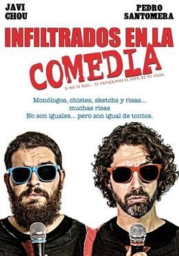 Cartel de 'Infiltrados en la Comedia'