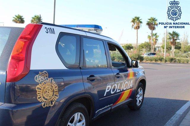 Cotxe de la Policia Nacional (recurs)