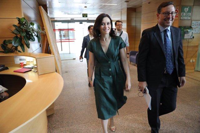 Imagen de archivo de la candidata del PP a la Presidencia de la Comunidad de Madrid, Isabel Díaz Ayuso.