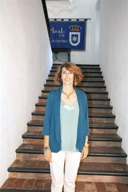 La docente Mercedes Laboisse en los cursos de verano de la Universidad Pablo de Olavide (UPO)