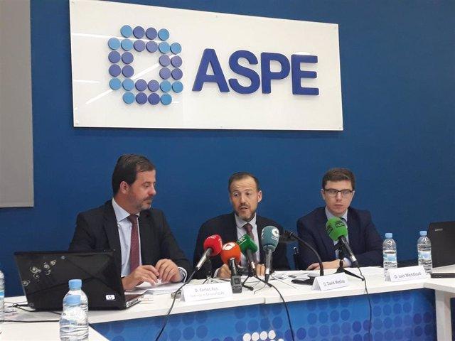 Rueda de prensa de ASPE