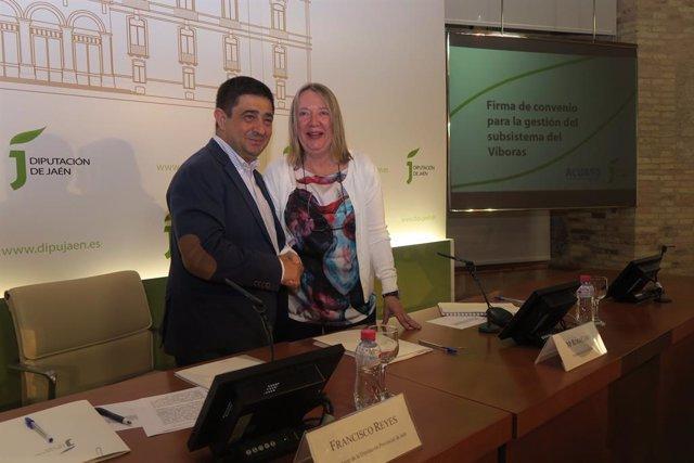Acuerdo entre Diputación y Acuaes