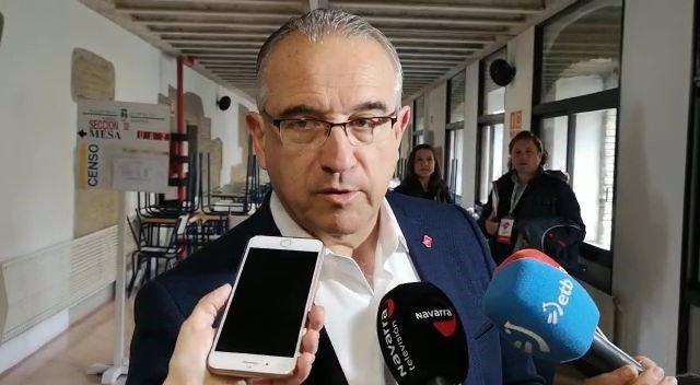 Enrique Maya, alcalde de Pamplona.