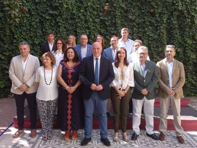El nuevo equipo de gobierno de la Diputación de Córdoba para el mandato 2019-2023