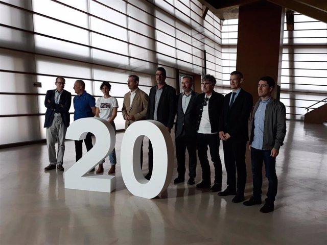 Presentación del 20 aniversario del Kursaal