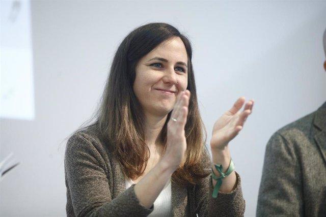 La portavoz adjunta de Podemos en el Congreso, Ione Belarra
