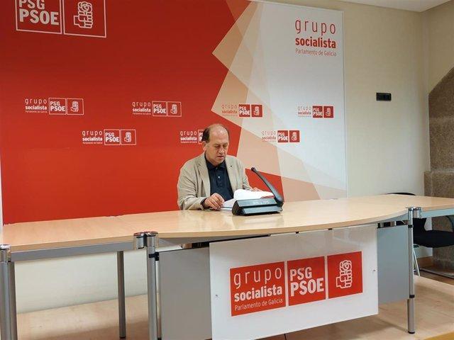 El portavoz parlamentario de los socialistas gallegos, Xoaquín Fernández Leiceaga.