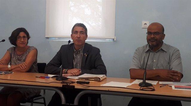 Mercè Massa, Josep González-Cambray y Miquel Àngel Essomba