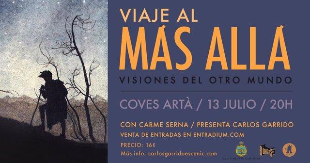 Cartell del 'Viaje al más allá', de Carlos Garrido.