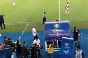 La inesperada reacción que nadie vio del brasileño Gabriel Jesús tras ser expulsado de la final de la Copa América