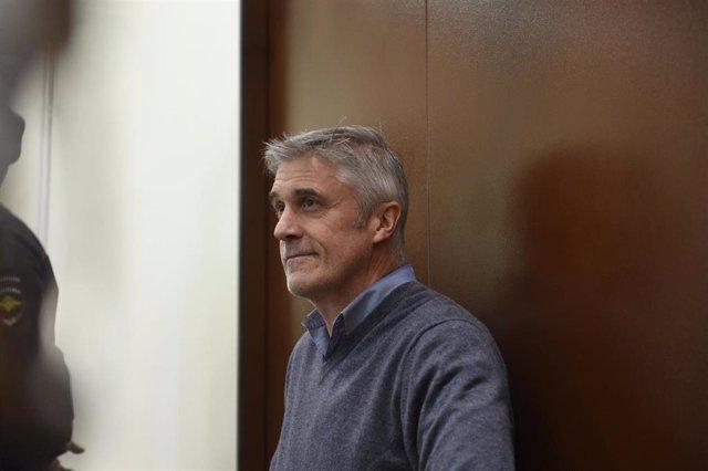 El empresario estadounidense Michael Calvey, fundador de la firma de inversiones Barink Vostok, detenido en Rusia