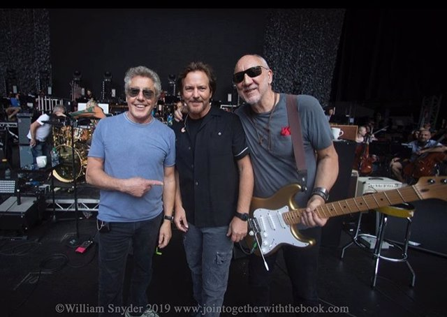 The Who con Eddie Vedder
