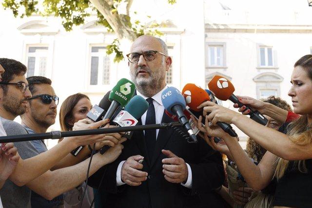 El diputat i portaveu de JxCat, Eduard Pujol