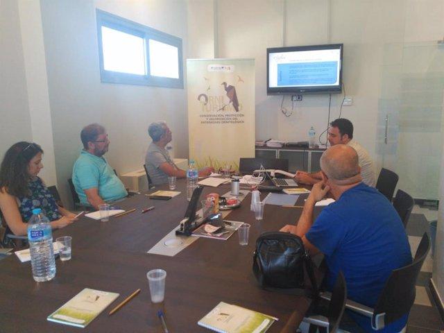 Reunión para conocer el proyecto Orniturismo