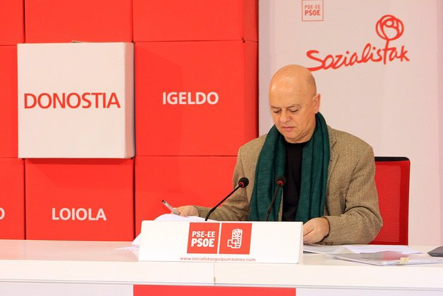 El diputado del PSOE por Gipuzkoa y exalcalde donostiarra, Odón Elorza
