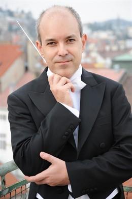 El director español David Hernando