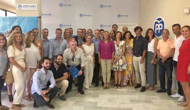 El PP de Málaga designa a los diputados provinciales de la comarca de la Costa del Sol