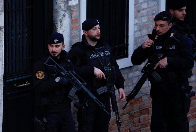 Imagen de archivo de los Carabinieri