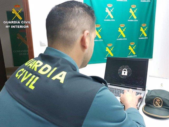 Huelva.-Sucesos.-Detenido el presunto estafador de 55.000 euros a través de internet