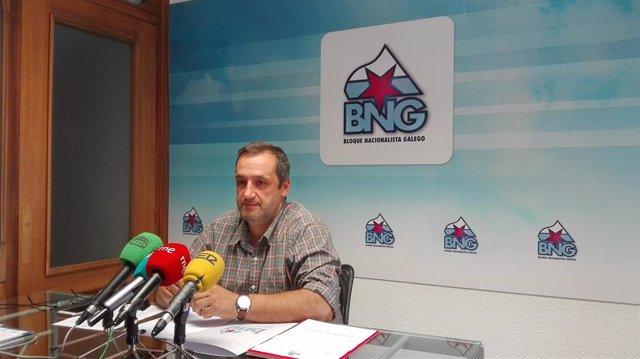 Xosé Ferreiro del BNG en Lugo