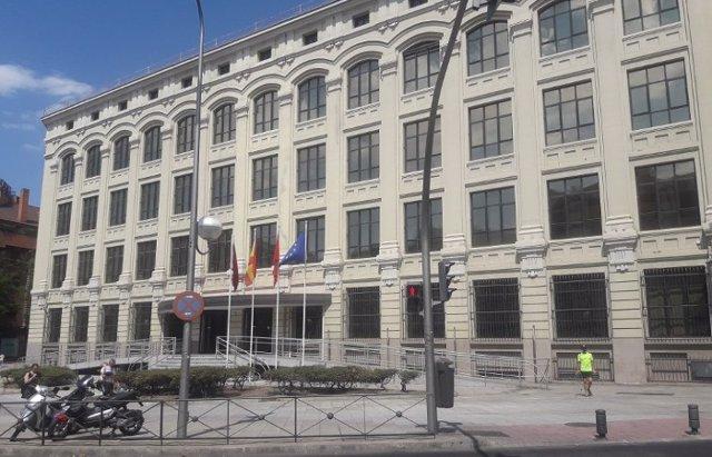 Foto de archivo de la sede de la EMVS del Ayuntamiento de Madrid.