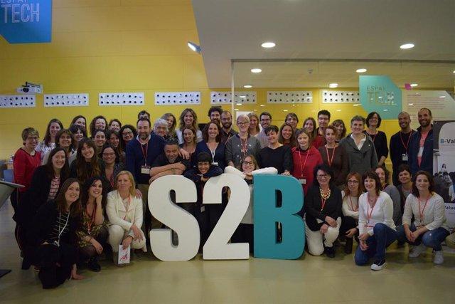 Participantes del programa B-Value en la edición 2019